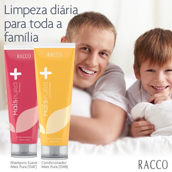 Racco / Shampoo e Condicionador / Linha Capilar / cabelos distribuidor(a) consultor(a) revendedor(a)