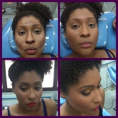 Efeito LUZ E SOMBRA cabeleireiro(a) designer de sobrancelhas maquiador(a) auxiliar cabeleireiro(a)