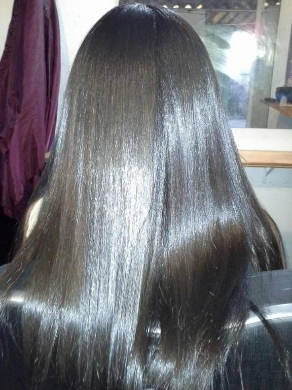 Hidratação + escova lisa cabeleireiro(a) maquiador(a) designer de sobrancelhas depilador(a)