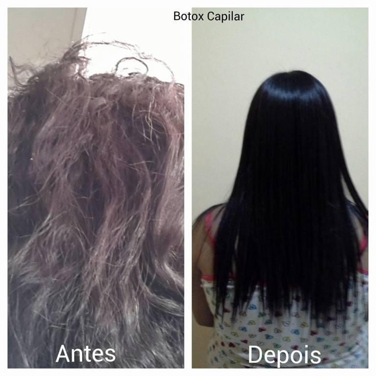 BOTOX CAPILAR cabeleireiro(a) maquiador(a) designer de sobrancelhas depilador(a)