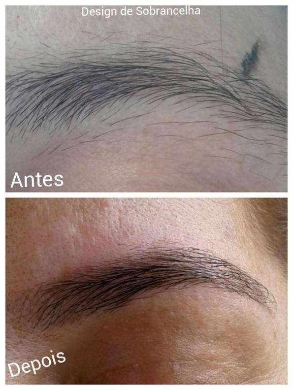 DESIGN DE SOBRANCELHAS cabeleireiro(a) maquiador(a) designer de sobrancelhas depilador(a)