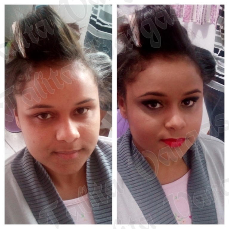make para formanda cabeleireiro(a)