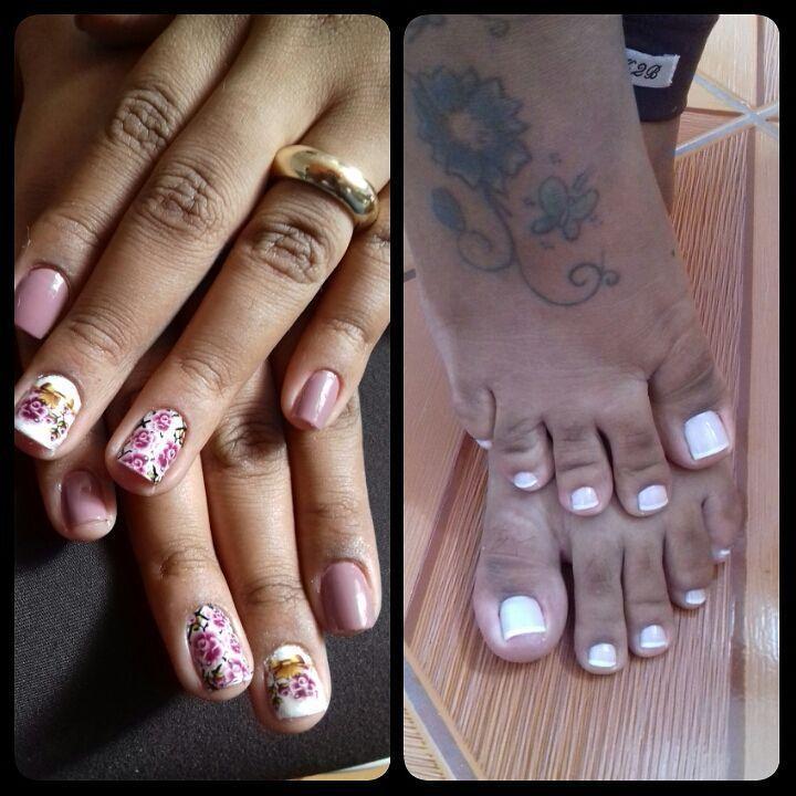 manicure e pedicure recepcionista auxiliar administrativo