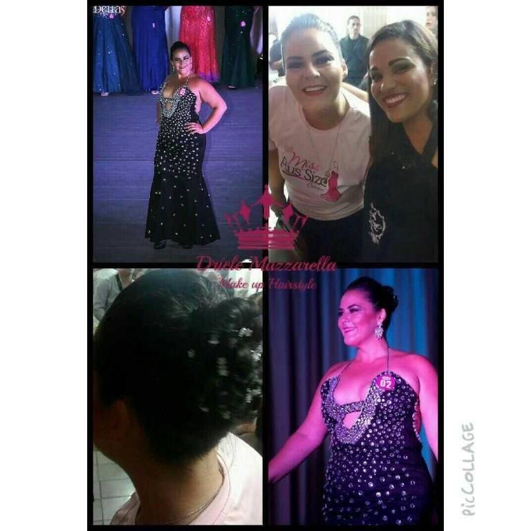 Concurso Miss Plus Size Carioca Hair: Driele Mazzarella maquiador(a)