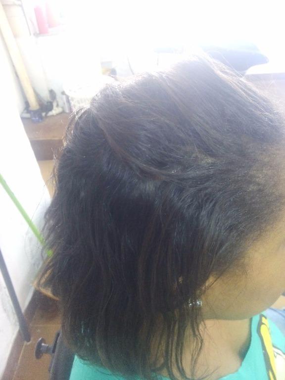 Antes da progressiva cabeleireiro(a) maquiador(a)