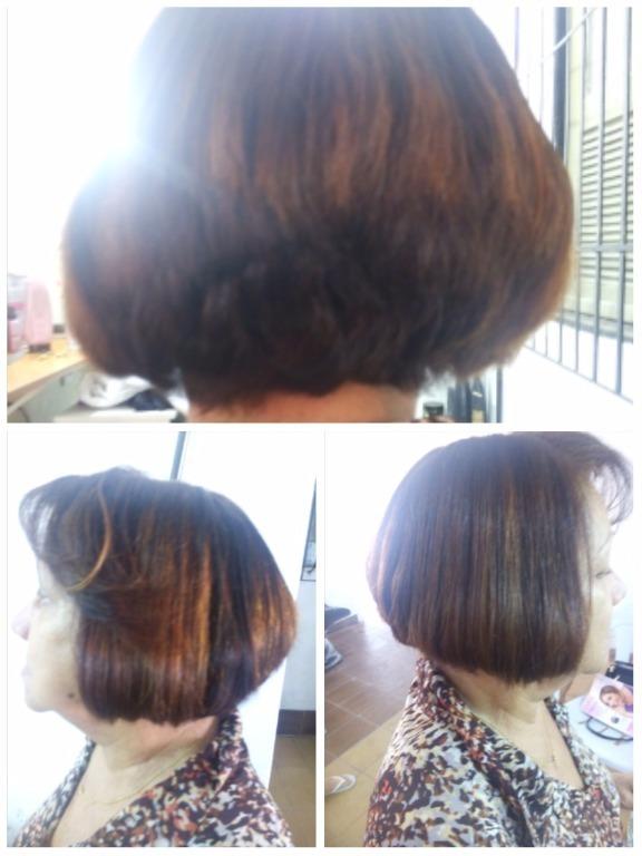 Corte chanel  $15 cabeleireiro(a) maquiador(a)
