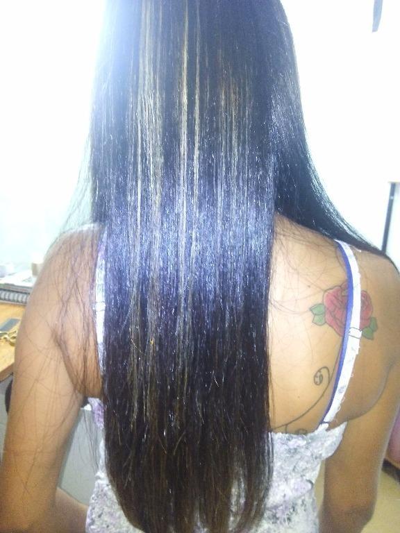 Transformação de cor cabeleireiro(a) maquiador(a)