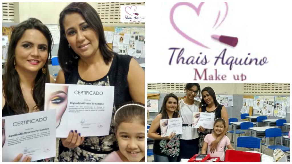 Curso de Automaquiagem realizado com Sucesso! Curso certificado e apostilado.  #cursomakeup #thaismakeup