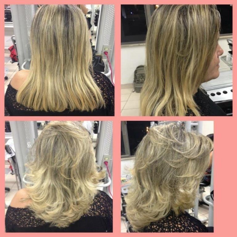 Antes & Depois ! #corte  cabeleireiro(a)