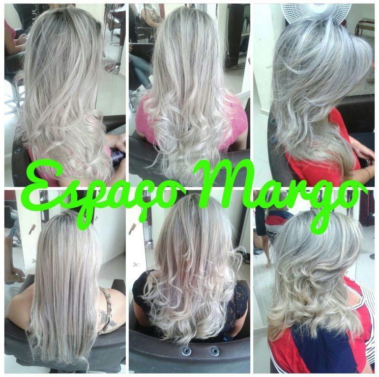 Espaço Margo fashion hair loiros Platinado ou Perolado qual combina mas com você? :* whatsapp : 12 98191 - 8064 ou 12-3966 - 5570 auxiliar cabeleireiro(a)