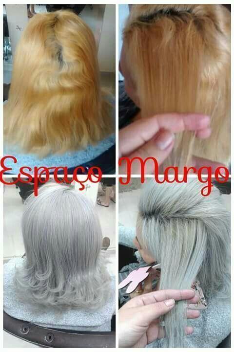 Correção de cor Espaço Margo Fashion Hair whatsapp : 12 98191 - 8064 ou 3966 - 5570 São José dos campos auxiliar cabeleireiro(a)