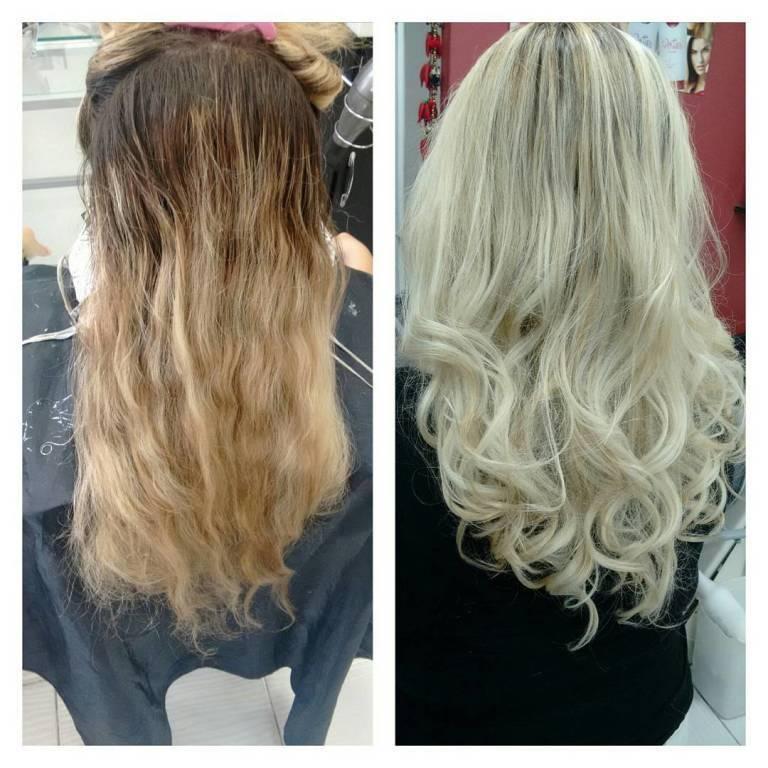 #antesedepois cabeleireiro(a) maquiador(a)