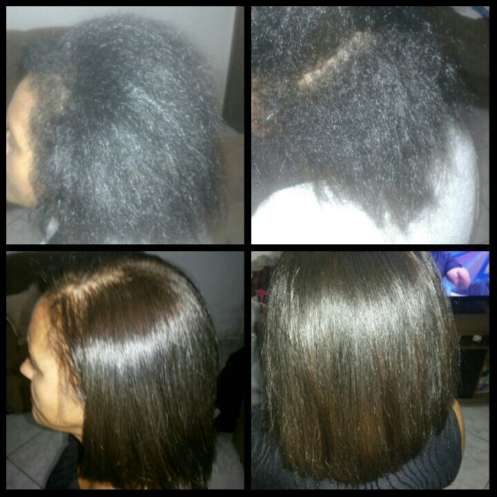 Progressiva antes e depois.  manicure e pedicure auxiliar cabeleireiro(a) designer de sobrancelhas