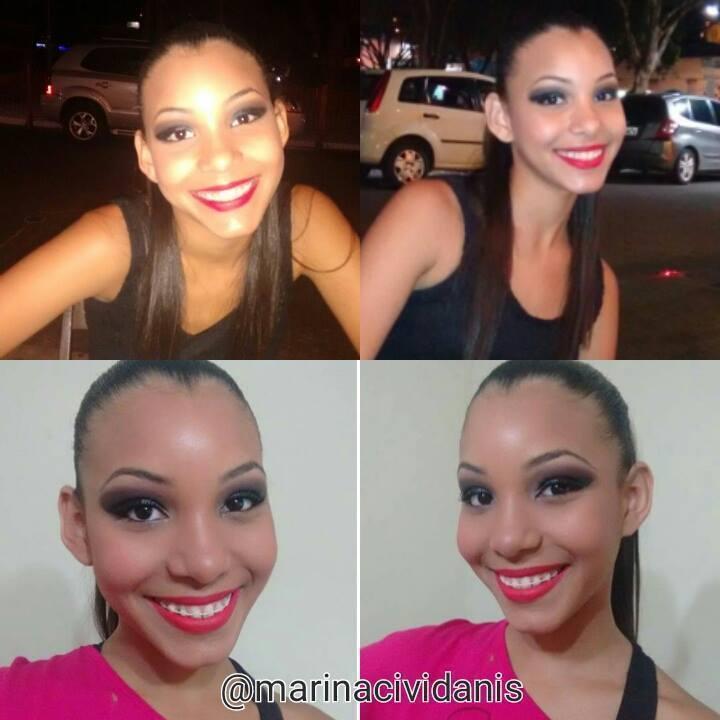 Maquiagem para apresentação de jazz da minha cliente. (De ontem) #makeupbymarinacividanis #maquiagembrasill #jazz #clientesatisfeita #aguasdesaopedro maquiador(a)