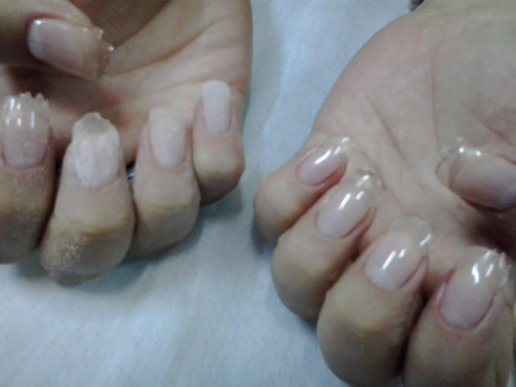 Unhas de fibra de vidro; passo 1 cabeleireiro(a) manicure e pedicure depilador(a) maquiador(a)