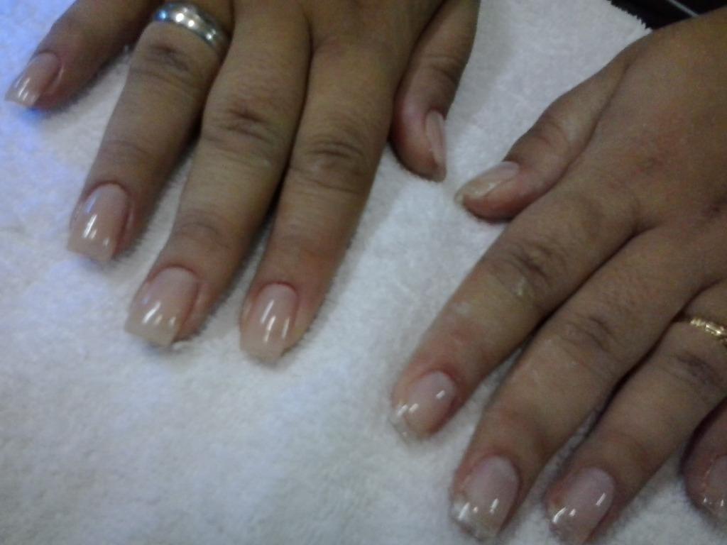 Unhas de fibra de vidro! brilho natual. cabeleireiro(a) manicure e pedicure depilador(a) maquiador(a)