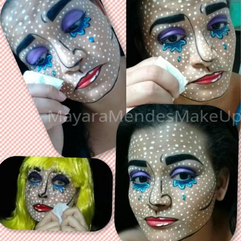 Maquiagem artística inspiração #RenataMonteiro maquiador(a)