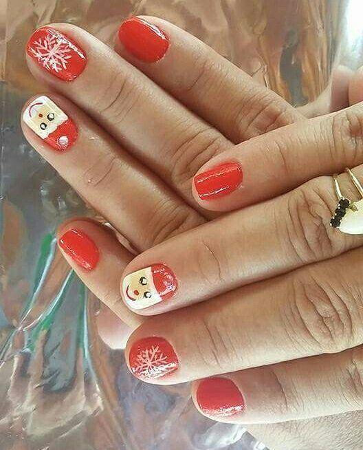 #unhasnatalinasamoo #simplesmastaperfect😍😙 manicure e pedicure maquiador(a)