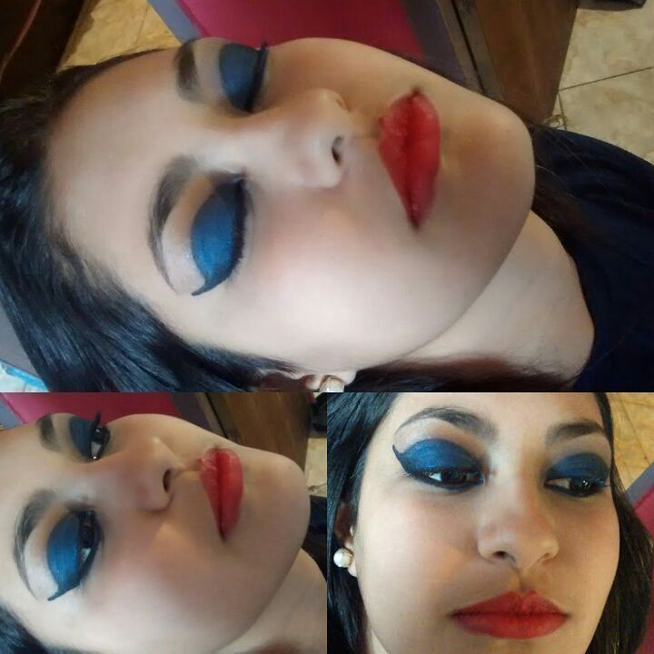 Maquiagem para festa a fantasia. assistente maquiador(a) auxiliar cabeleireiro(a) maquiador(a) estudante (esteticista) estudante