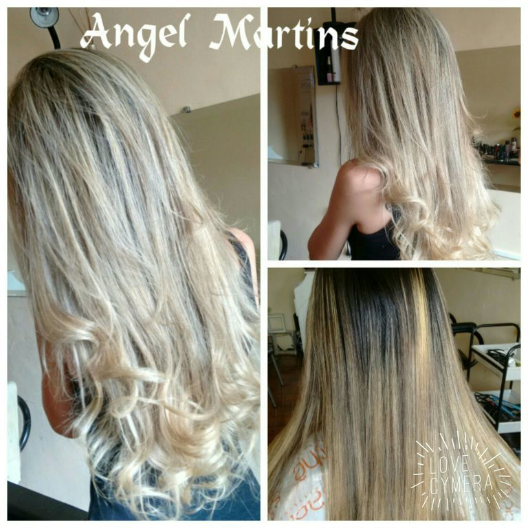 Mechas transparência cabelo cabeleireiro(a) maquiador(a)