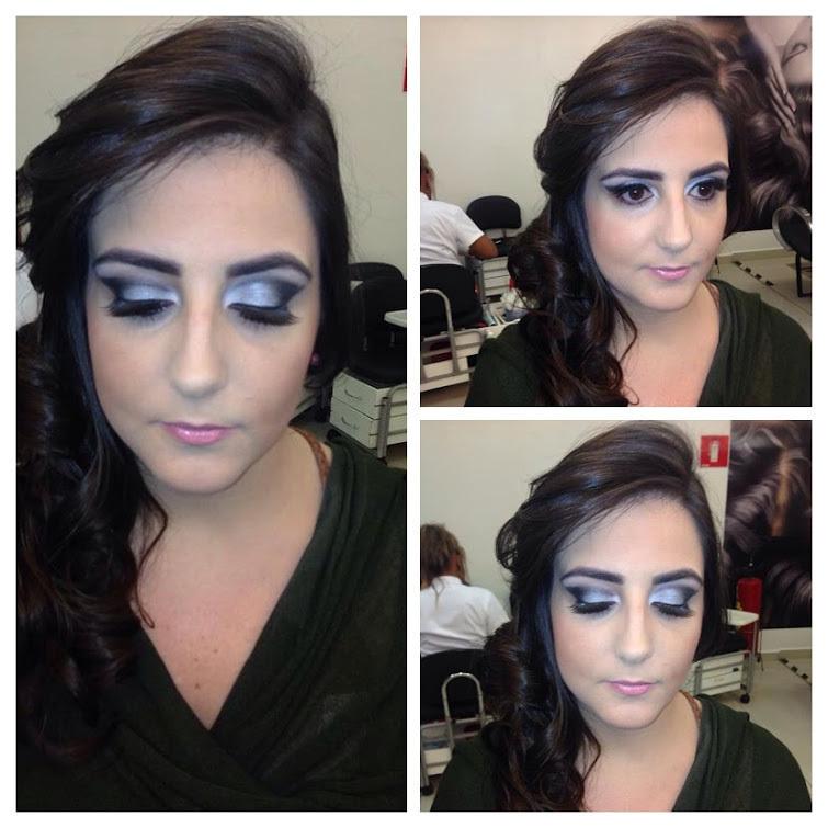 by @pricilagfhair Make e penteado cabeleireiro(a) maquiador(a) designer de sobrancelhas