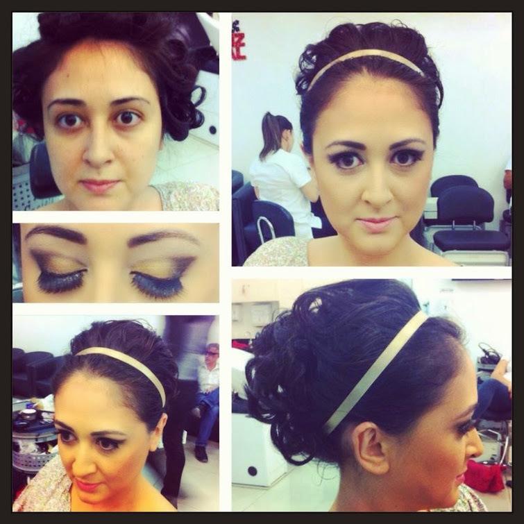 Penteado e make by @pricilagfhair cabelo cabeleireiro(a) maquiador(a) designer de sobrancelhas