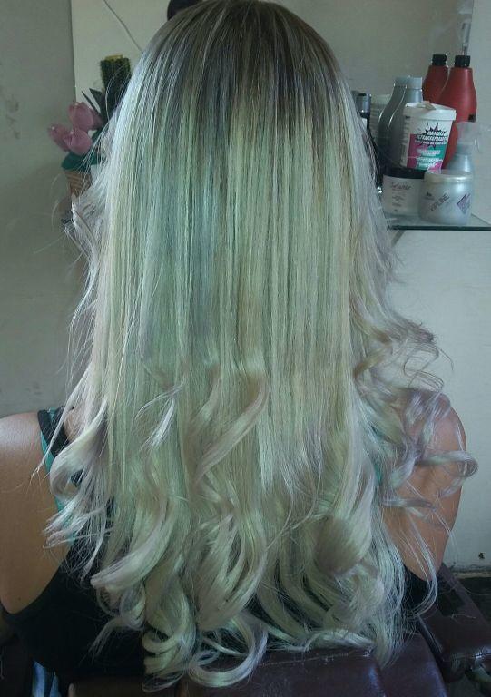 Blond hair cabelo cabeleireiro(a) designer de sobrancelhas depilador(a) manicure e pedicure maquiador(a)