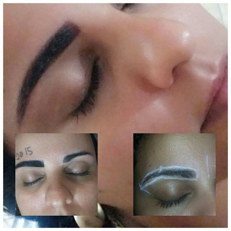 Sobrancelhas com hena outros manicure e pedicure maquiador(a) designer de sobrancelhas