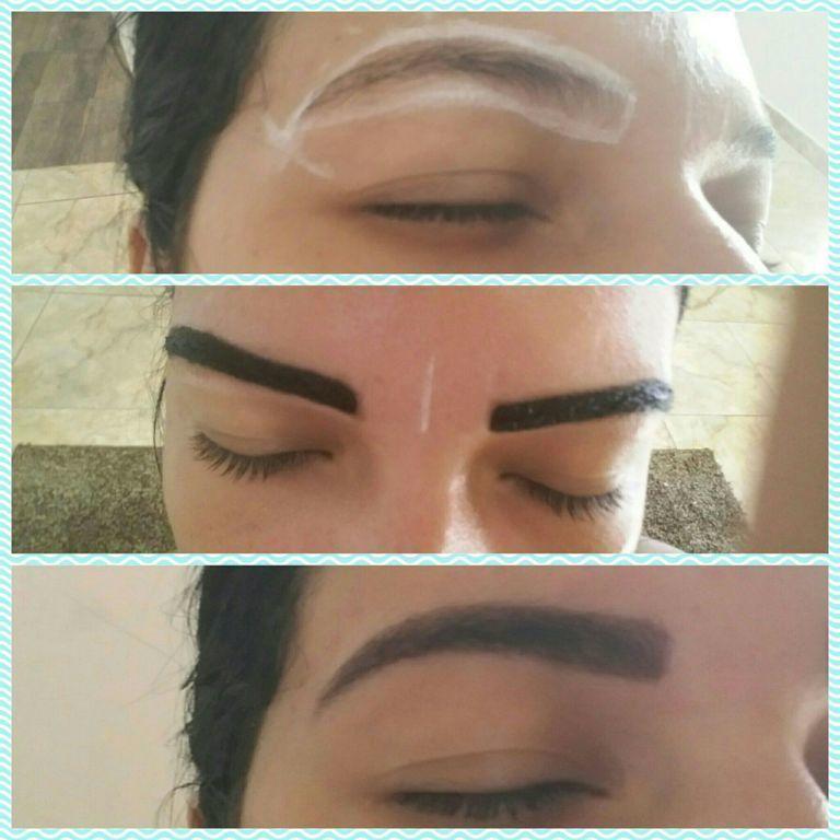Design de sobrancelhas com hena outros manicure e pedicure maquiador(a) designer de sobrancelhas