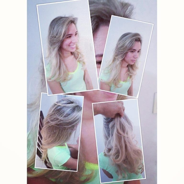 Micro mechas ombre  cabeleireiro(a)