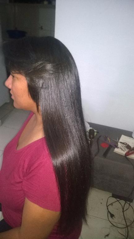 #megahair com queratina cabeleireiro(a)