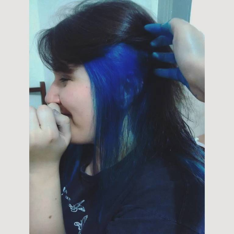 #bluehair auxiliar cabeleireiro(a) recepcionista