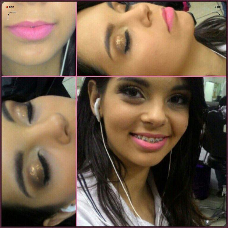 Aula maquiagem de noiva ! #aula  #curso  #senac  #noiva maquiagem maquiador(a)