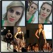 Maquiagem na modelo Patricia Rodrigues, deslife Grupo Santista de Moda. Oficina de Modelos By Clô.