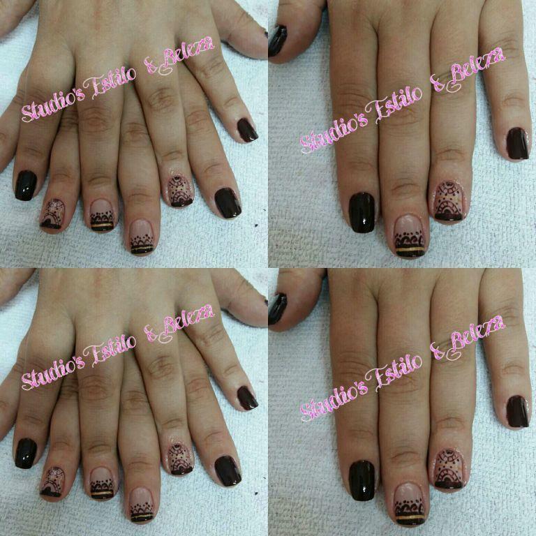 Unhas decoradas a mão unha micropigmentador(a) depilador(a) dermopigmentador(a) empresário(a) manicure e pedicure maquiador(a) designer de sobrancelhas