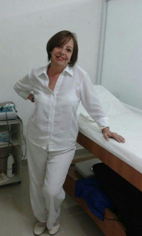 No trabalho estética massoterapeuta fisioterapeuta