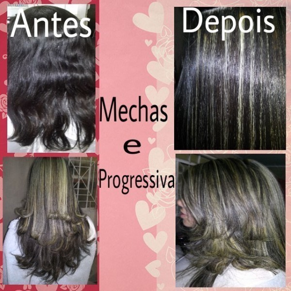 Mechas e progressiva HD