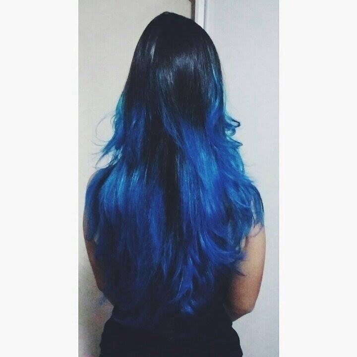 Metade azul
