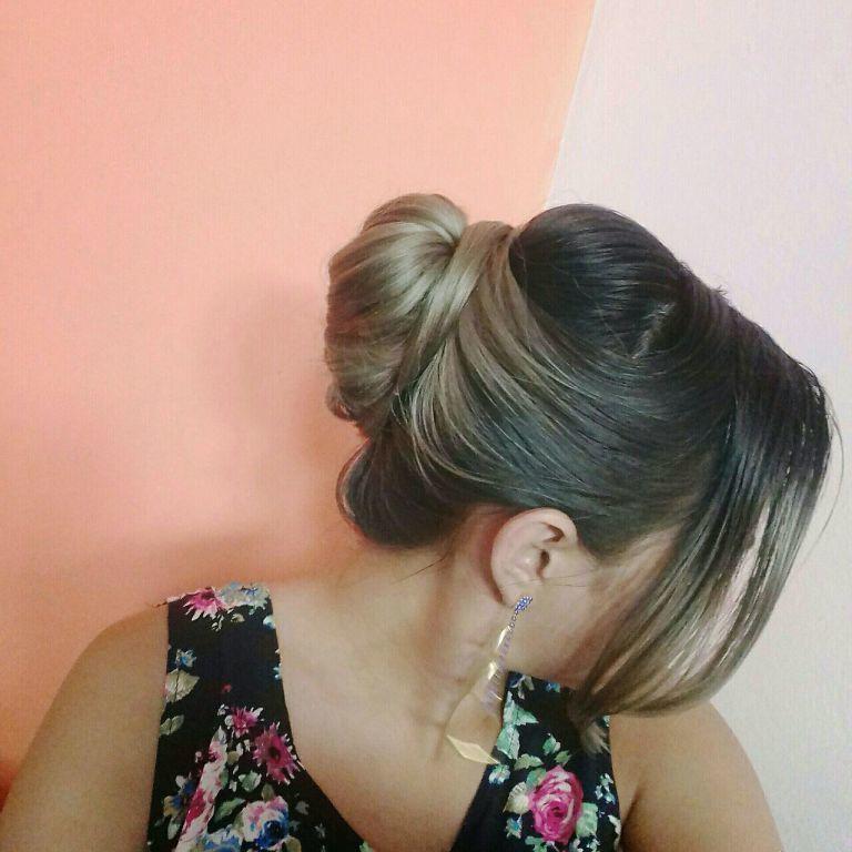 coque elegante para qualquer ocasião! cabelo estudante (maquiador)