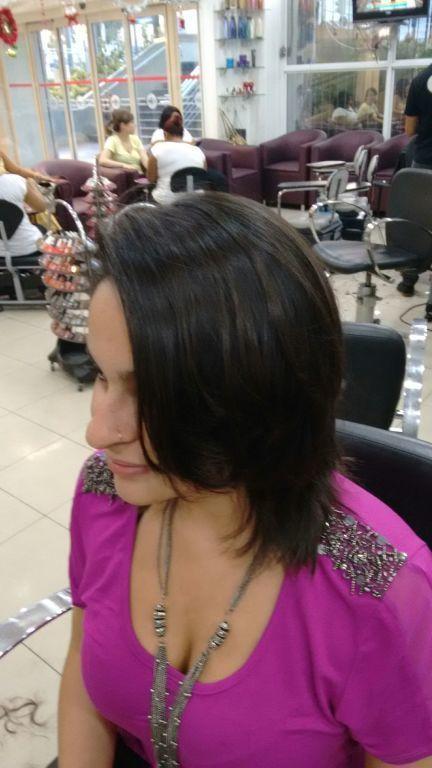 Corte em drayon técnica Tony & guy,por sharlon Lisboa.... cabeleireiro(a)
