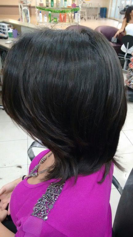 Corte em drayon,técnica Tony & guy,por sharlon lisboa.... cabelo cabeleireiro(a)