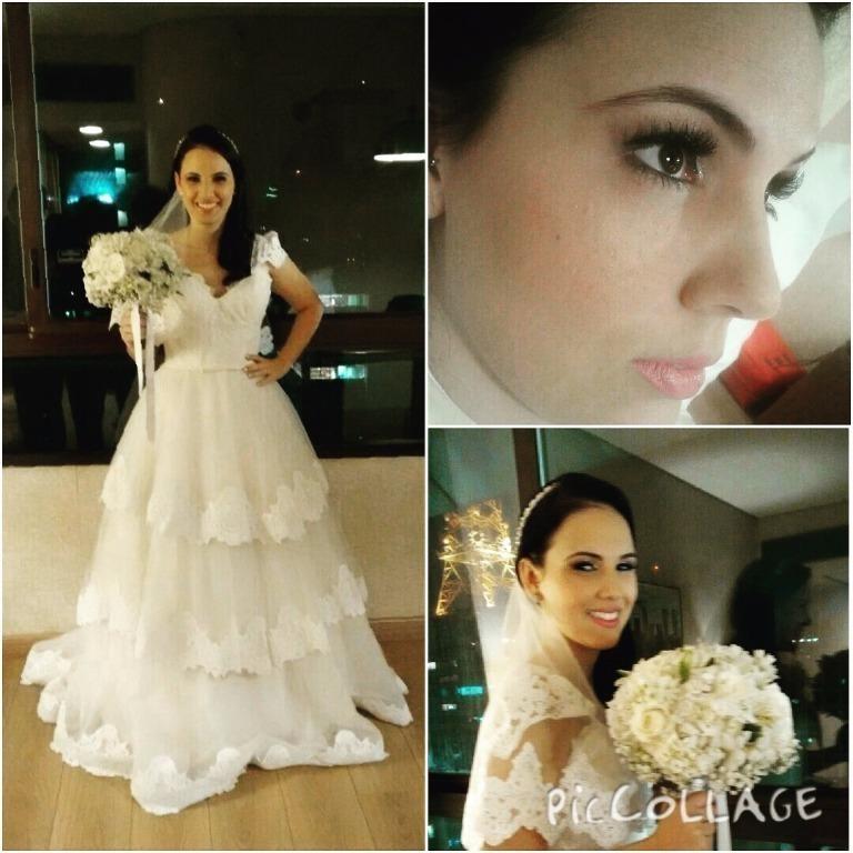 make para noiva romantica Carol.....  maquiador(a)