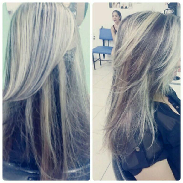 Luzes técnica molinete cabelo cabeleireiro(a) maquiador(a)