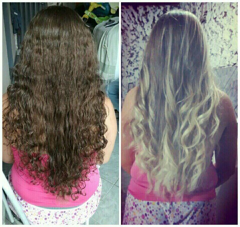 Cabelo lindíssimo loiro perola.💖 cabelo cabeleireiro(a)
