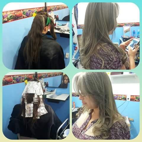Corte, luzes,hidratação e matização!  cabeleireiro(a)