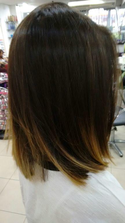 Sombreamento de cor+corte por sharlon Lisboa.... cabelo cabeleireiro(a)