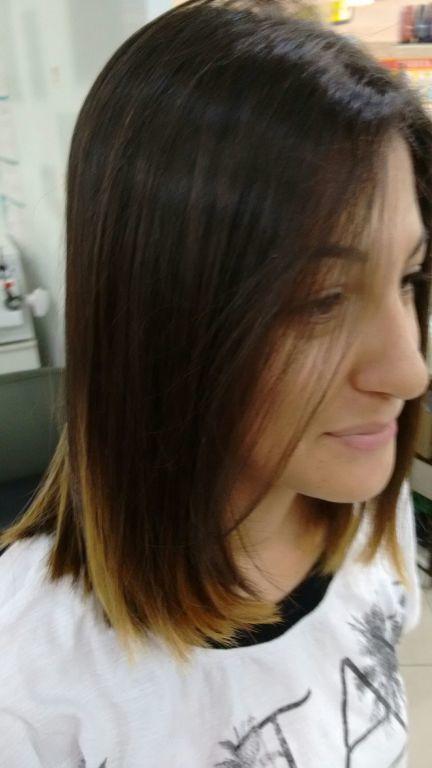 Depois.....corte por sharlon Lisboa...... cabeleireiro(a)