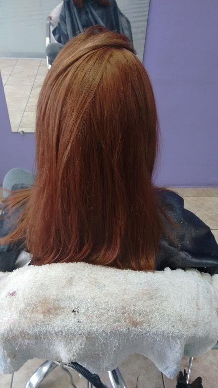 Ruivo natural#todomundoquer cabeleireiro(a)