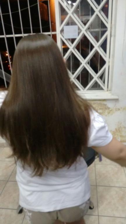 lisos e naturais#nemtudoéprogressiva cabeleireiro(a)