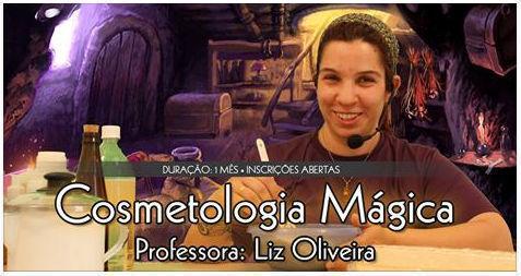 Divulgação do Curso online de Cosmetologia Mágica no EADeptus 2014 terapeuta docente / professor(a) massoterapeuta massagista aromaterapeuta estudante (maquiador) assistente maquiador(a)